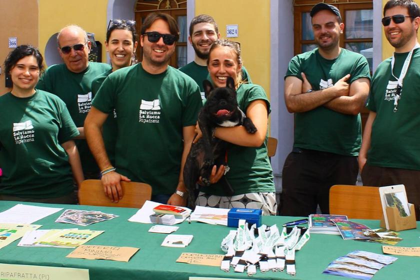 I volontari di Ripafratta
